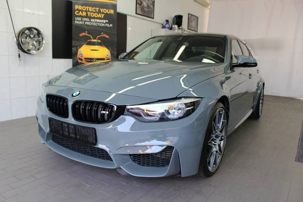 BMW M3 glass coating modesta